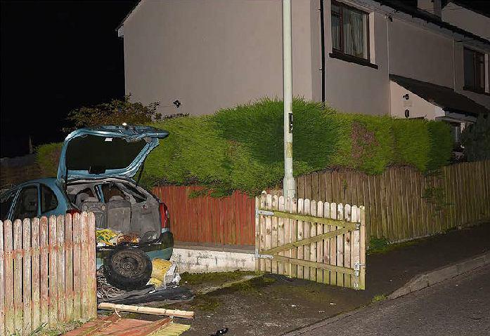 Materiały wybuchowe podłożone w Londonderry (Derry)