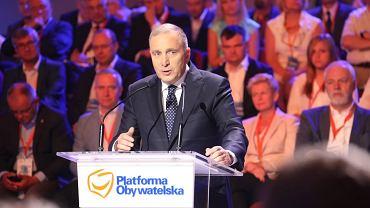 Na zdjęciu: Grzegorz Schetyna