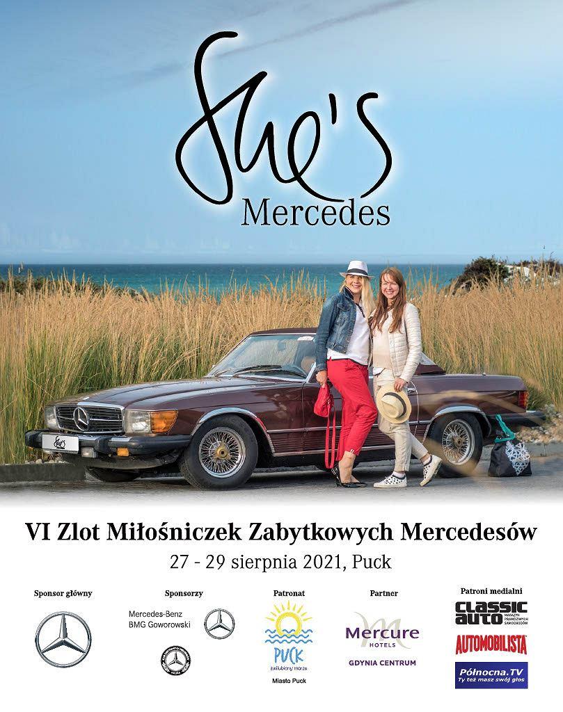 Plakat tegorocznej edycji She Is Mercedes