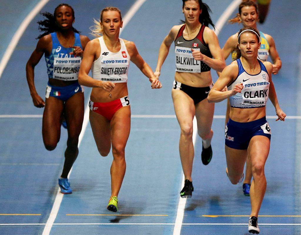 Justyna Święty-Ersetic wygrała swój bieg eliminacyjny na 400 m