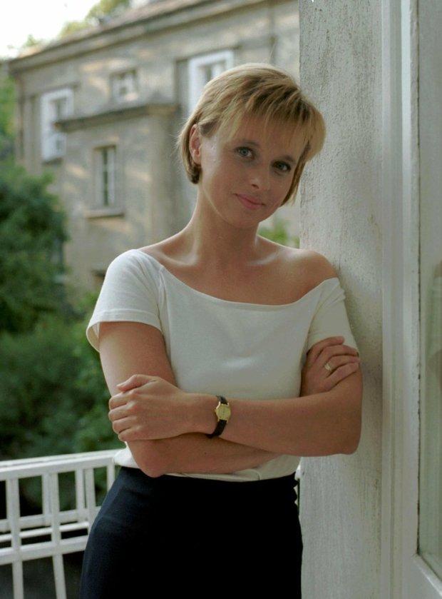 Jolanta Pieńkowska w 1995 roku.