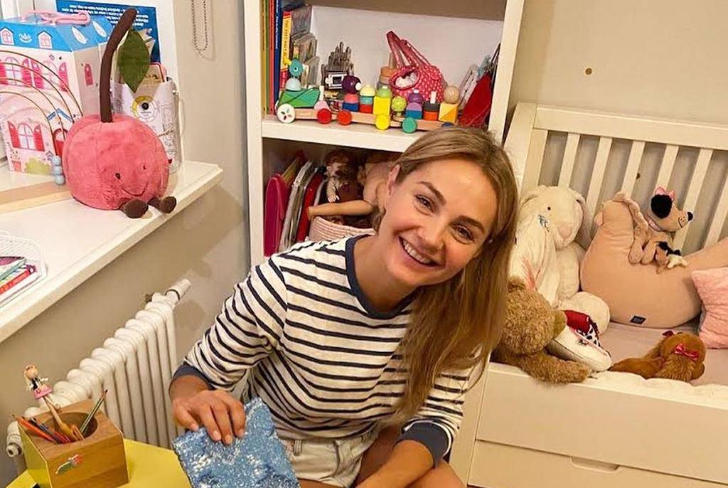 Małgorzata Socha pokazała pokój dzieci