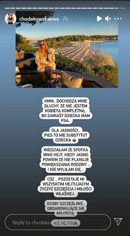 Ewa Chodakowska odpowiedziała hejterom na temat posiadania dzieci