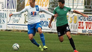Lech Poznań - FK Krasnodar 0:0 w sparingu rozegranym w Arcos de la Frontera. Łukasz Teodorczyk