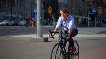 Min. Jadwiga Emilewicz prosi o pomoc o odnalezieniu skradzionego roweru