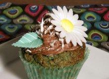 Wiosenne cupcake'i ryżowe ze skórką pomarańczową, migdałami i kremem ryżowo-czekoladowym - ugotuj