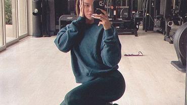 Co Khloe Kardashian je po treningu?