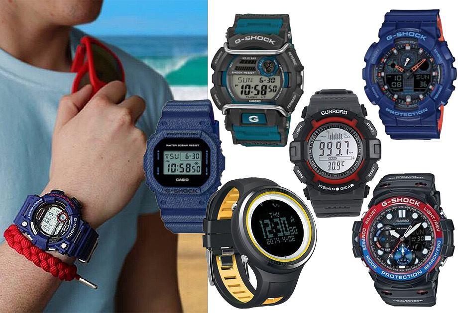 zegarki g shock, materiały partnera