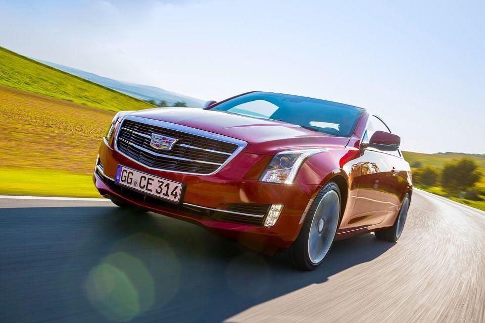 Cadillac ATS Coupe - wersja europejska