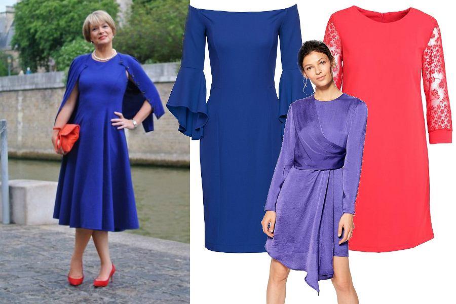 Kolorowe sukienki na sylwestra dla dojrzałych kobiet