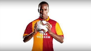 Didier Drogba w koszulce Galatasaray