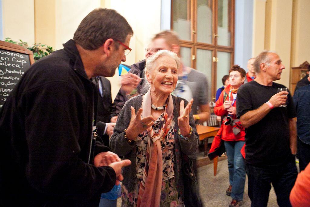 Na zdjęciu Anna Milewska - żona Andrzeja Zawady