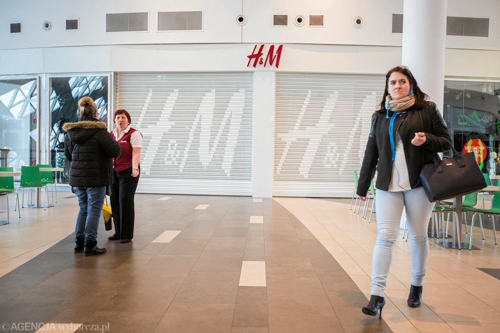 Zamknięty H&M