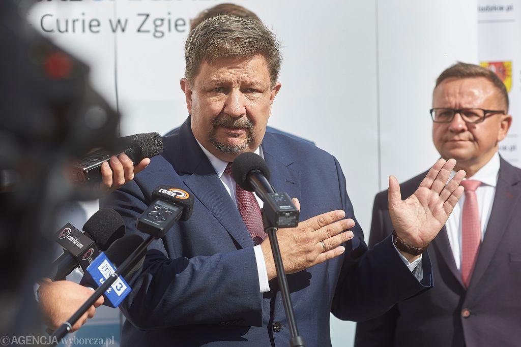 Marszałek województwa łódzkiego Grzegorz Scheiber ma koronawirusa