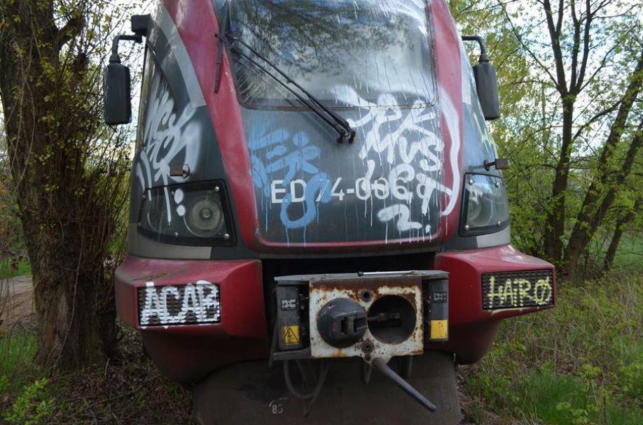 Niszczejące pociągi