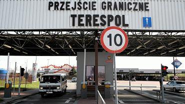 Granica Polska-Białoruś. Przejście graniczne w Terespolu