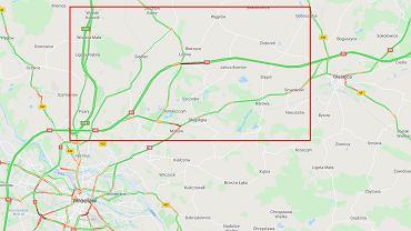 Karambol na S8 pod Wrocławiem. Na drodze do Warszawy zderzyło się osiem aut (zdjęcie ilustracyjne)