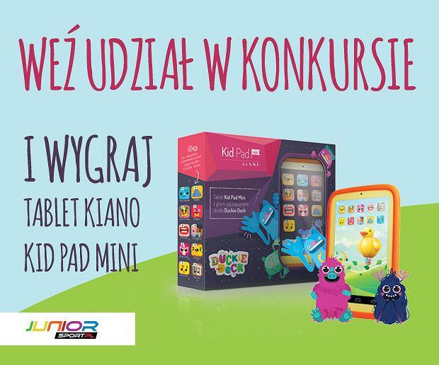 Weź udział w konkursie i wygraj dziecięcy tablet