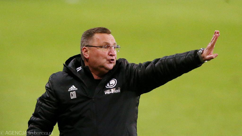Czesław Michniewicz jako trener Legii Warszawa