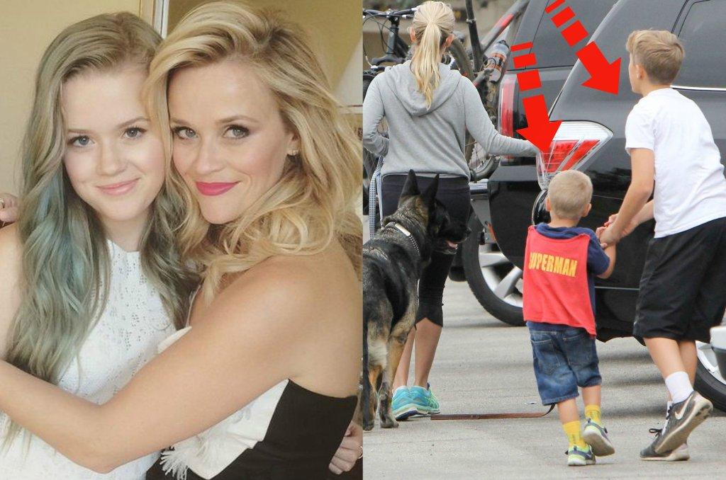 Reese Witherspoon musi mieć silne geny. Nie tylko jej córka jest łudząco podobna do mamy. Rzut oka na jej dwóch synów i od razu wiadomo, kto jest ich mamą. Zobaczcie najnowsze zdjęcia aktorki oraz Tennesee'ego i Deacona.
