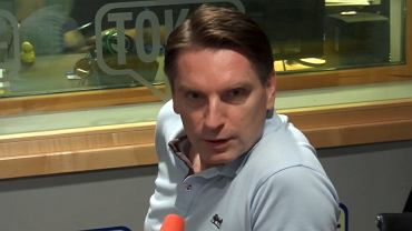Tomasz Lis w studiu Radia TOK FM