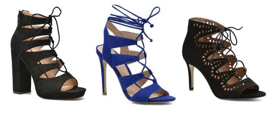 Sarenza Summer Shoes - wysokie sandały