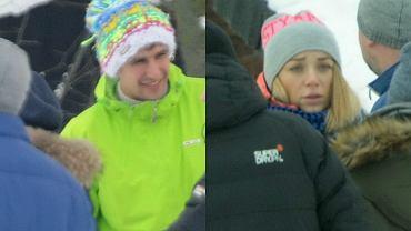 Jarosław Bieniuk i Martyna Gliwińska razem z dziećmi byłego piłkarza wspólnie pojechali na ferie na Kaszuby.