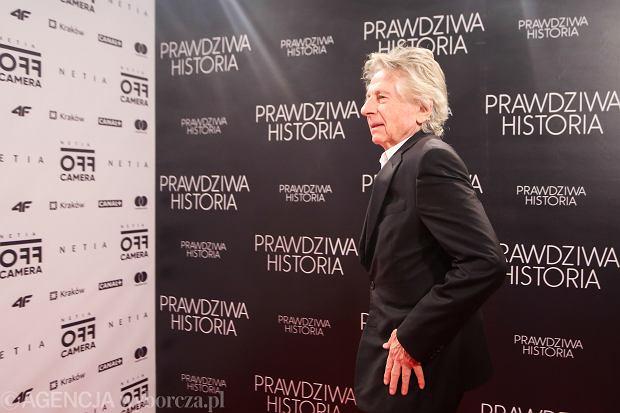 Roman Polański promuje nowy film