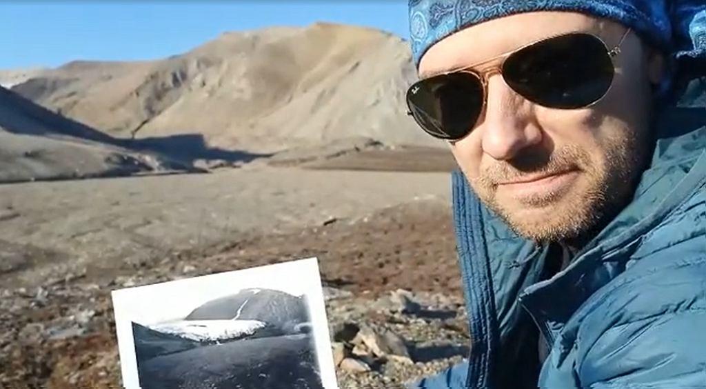 Jakub Małecki pokazuje jak stopniał lodowiec Ferdynand