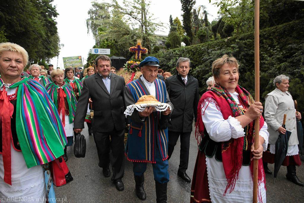 Wrzesień 2017. Wojewódzkie dożynki w Masłowie