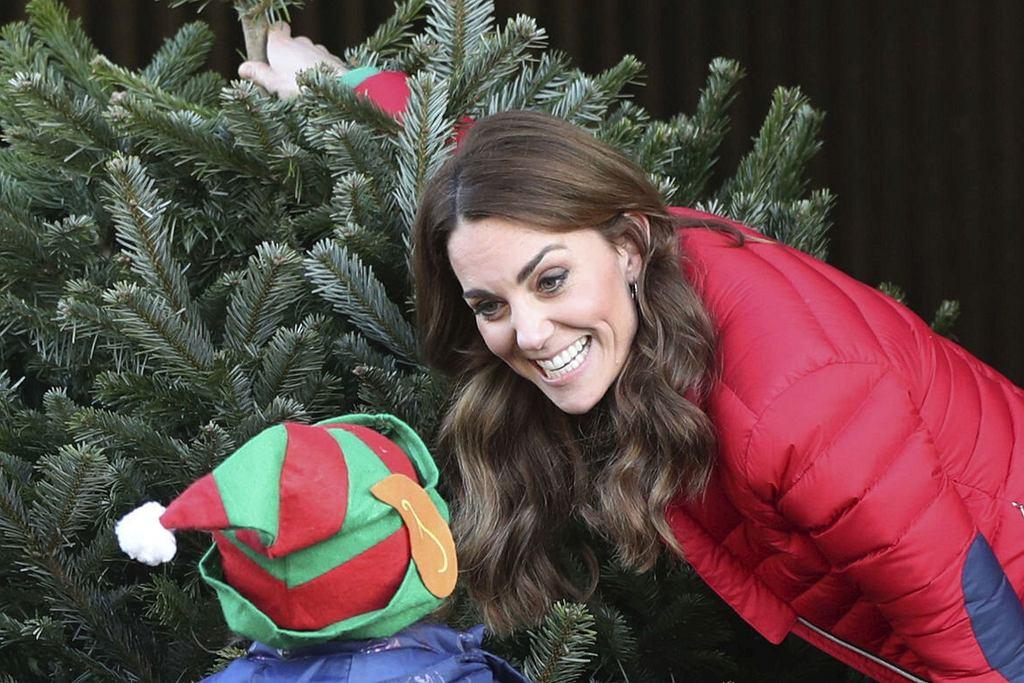 Księżna Kate na świątecznym jarmarku