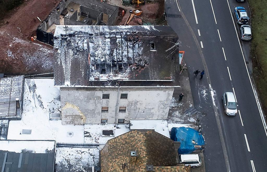 Niemcy. Pożar w Lambrecht. Prawdopodobnie wszystkie ofiary to Polacy