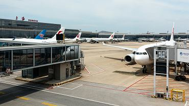 Lotnisko w Szanghaju