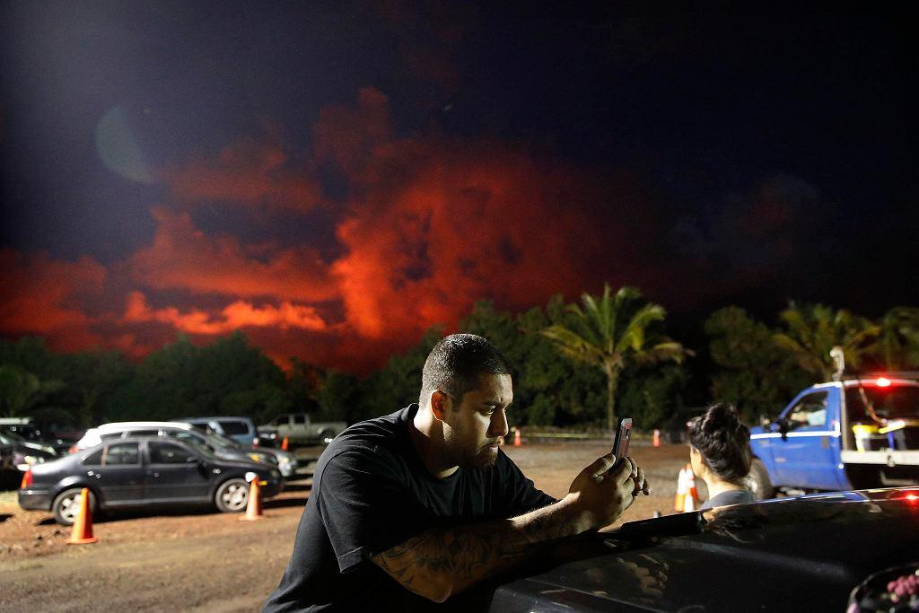 Wulkan Kilauea wciąż straszy