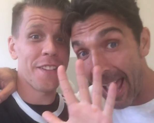 Wojciech Szczęsny i Gianluigi Buffon