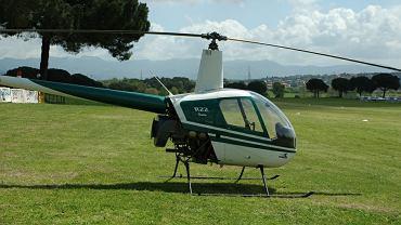 Helikopter Robinson-22  - zdjęcie ilustracyjne