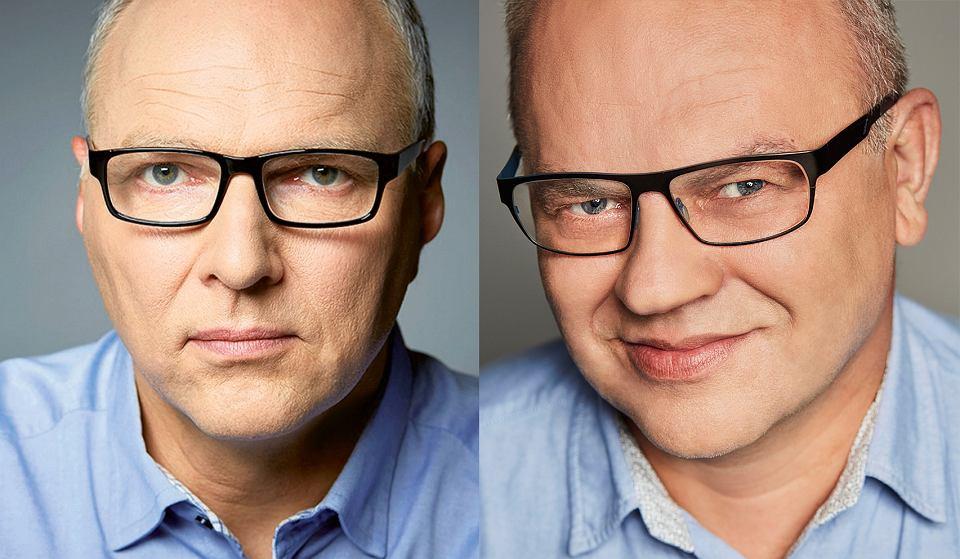 Jarosław Kurski i Jerzy B. Wójcik