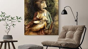 Obraz i plakaty na ścianę.
