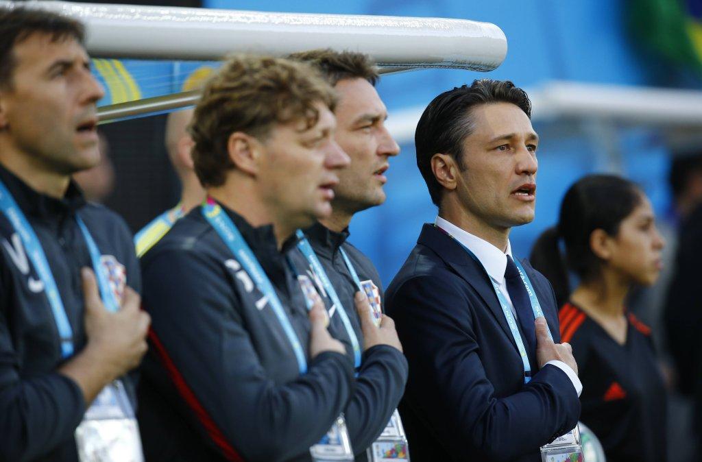 Trener reprezentacji Chorwacji Niko Kovac