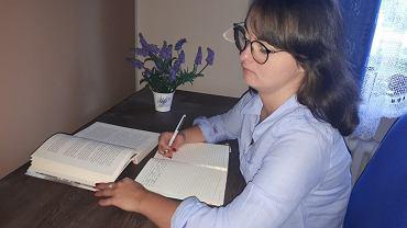 Dominika Kasińska jest wolontariuszką WOŚP