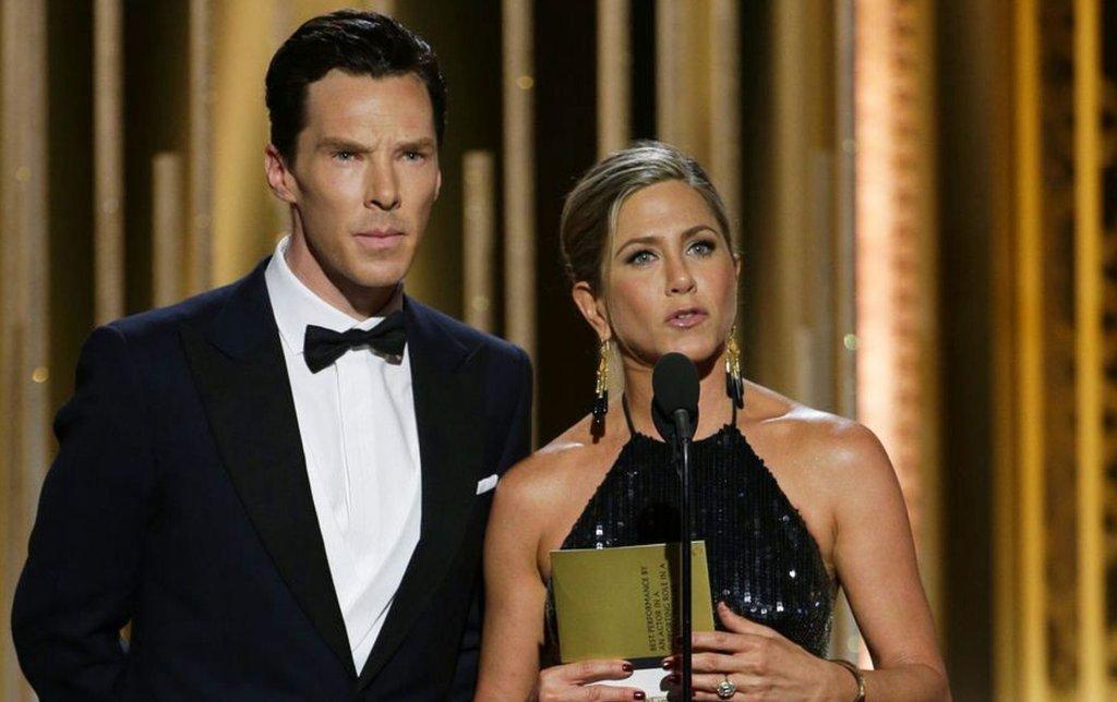 Benedict Cumberbatch i Jennifer Aniston