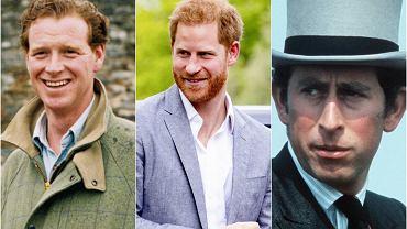 James Hewitt, książę Harry, książę Karol