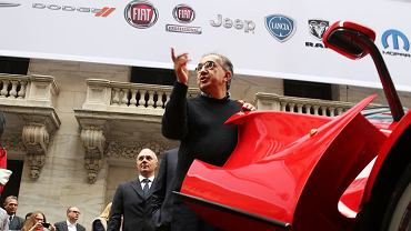 Sergio Marchionne wsiada do Ferrari