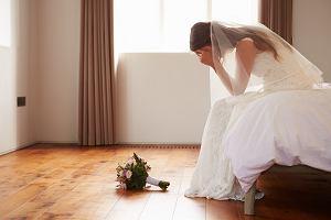Panna młoda wpadła w szał na ślubie. Wszystko przez szwagierkę w ciąży
