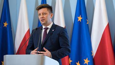 Michał Dworczyk na konferencji prasowej ws. zagrożenia koronawirusa w Polsce