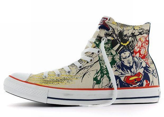 Converse: trampki superbohaterów