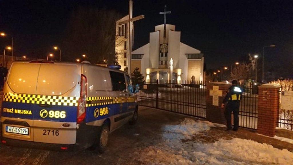Interwencja w Sanktuarium Św. Ojca Pio w Warszawie