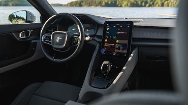 System Android Automotive w modelu Polestar 2
