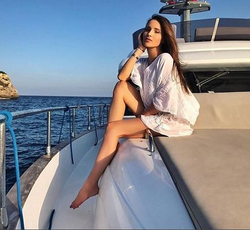 Marina Łuczenko-Szczęsna pokazała się pierwszy raz po porodzie