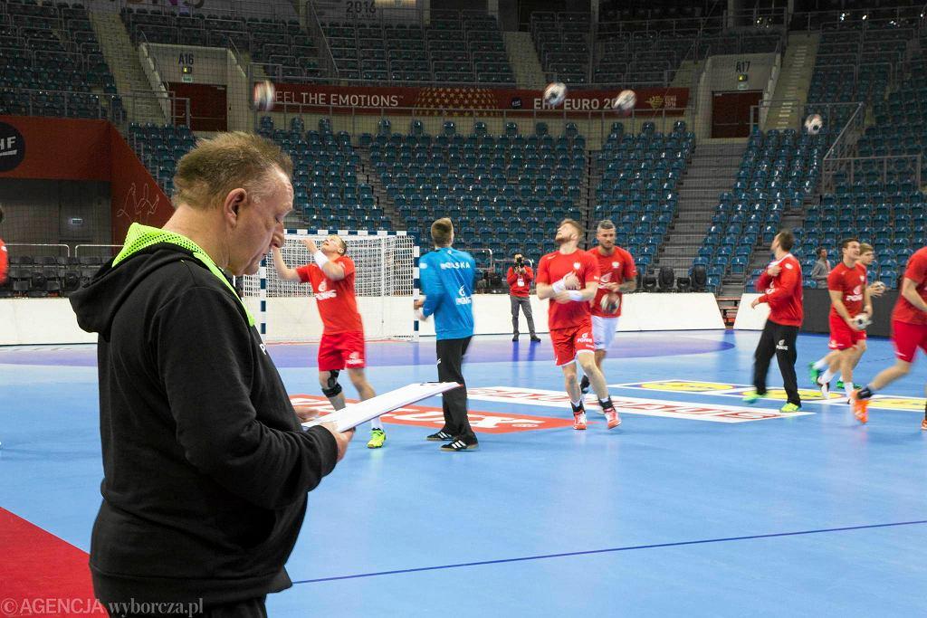 Tauron Kraków Arena. Ostatnie chwile przed mistrzostwami Europy w piłce ręcznej mężczyzn.